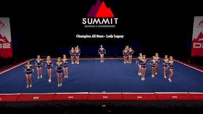 Champion All Stars - Lady Legacy [2021 L4.2 Senior - Small Semis] 2021 The D2 Summit