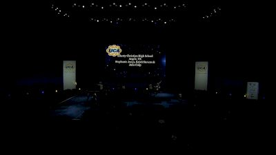 Liberty Christian High School [2021 Medium Varsity Division II Semis] 2021 UCA National High School Cheerleading Championship