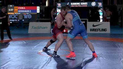 130KG, QF, Adam Jacob COON, USA vs Zurabi GEDEKHAURI, RUS