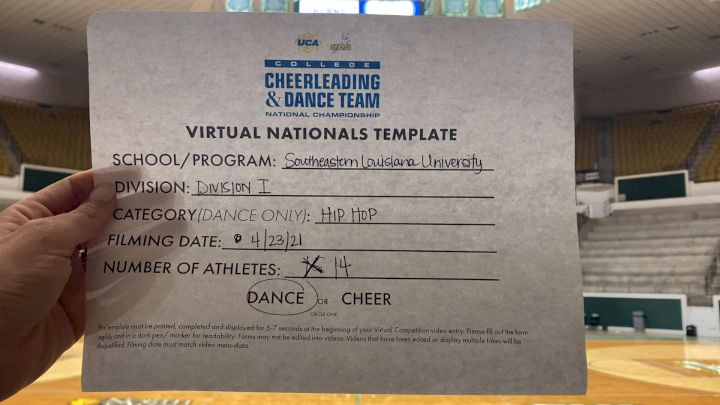 Southeastern Louisiana University [Virtual Division I Hip Hop Finals] 2021 UCA & UDA College Cheerleading & Dance Team National Championship