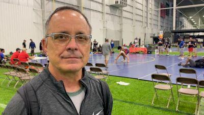 Augsburg Coach Jim Moulsoff Coaching Team Minnesota At 16U Duals