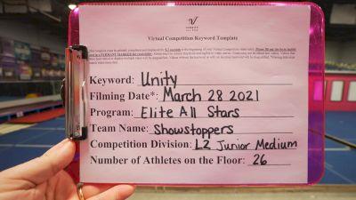 Elite All Stars - Showstoppers [L2 Junior - Medium] 2021 Mid Atlantic Virtual Championship