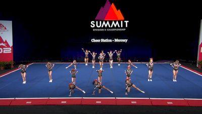 Cheer Station - Mercury [2021 L3 Junior - Small Finals] 2021 The D2 Summit
