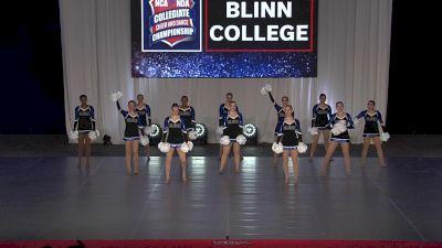 Blinn College [2021 Pom Open Prelims] 2021 NCA & NDA Collegiate Cheer & Dance Championship