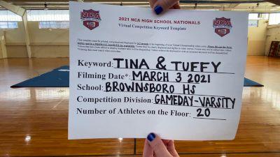 Brownsboro High School [Game Day Varsity ] 2021 NCA High School Nationals
