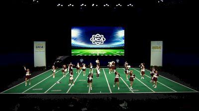 Lee University [2021 Small Coed Game Day Semis] 2021 UCA & UDA College Cheerleading & Dance Team National Championship