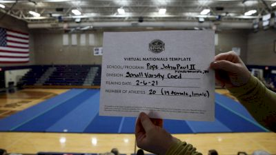 Pope John Paul II High School [Virtual Small Varsity Coed Game Day Finals] 2021 UCA National High School Cheerleading Championship