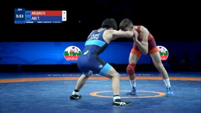 Gold - 57kg Toshiya Abe (JPN) vs Vitali Arujau (USA)