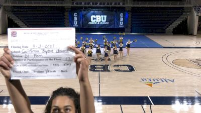 California Baptist University [Virtual Division I Pom Finals] 2021 NCA & NDA Collegiate Cheer & Dance Championship