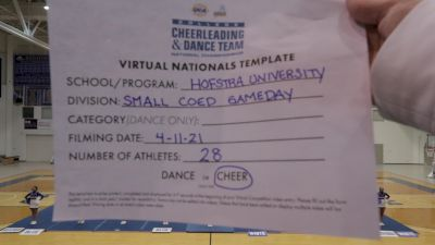 Hofstra University [Virtual Small Coed Game Day - Cheer Semi Finals] 2021 UCA & UDA College Cheerleading & Dance Team National Championship