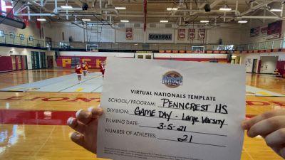 Penncrest High School [Virtual Large Varsity - Game Day Finals] 2021 UCA National High School Cheerleading Championship