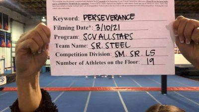 SCV All Stars - Senior Black [L5 Senior] 2021 USA All Star Virtual Championships
