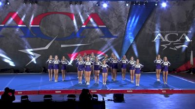 Express Cheer - Exceptional [2021 L4.2 Senior Day 1] 2021 ACA All Star DI Nationals