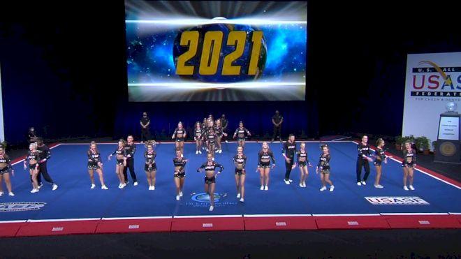 Infinity Allstars - Legacy [2021 L6 International Open Coed Non Tumbling Semis] 2021 The Cheerleading Worlds