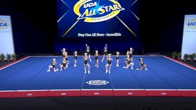 Step One All Stars - Incredible [2021 L2 Youth - Small Day 2] 2021 UCA International All Star Championship