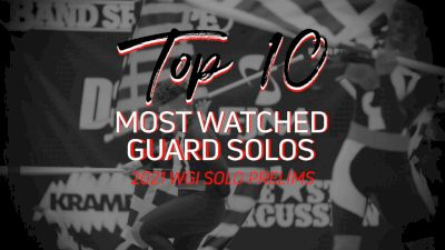 Top 10: Most Watched WGI Virtual Guard Solos