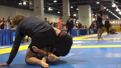 Alan Sanchez Catches Buzzer-Beater Triangle Armbar