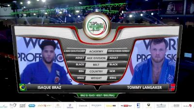Isaque Bahiense vs. Tommy Langaker 2020 Abu Dhabi World Pro