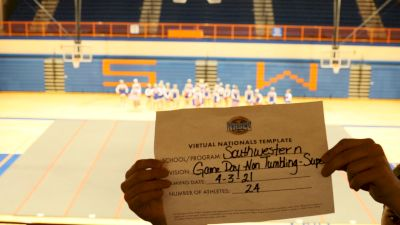 Southwestern High School [Super Varsity Non Tumbling Game Day Virtual Semi Finals] 2021 UCA National High School Cheerleading Championship