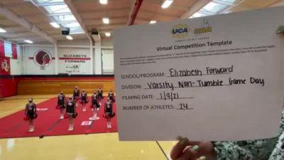 Elizabeth Forward High School [Game Day Large Varsity - Non-Tumble] 2021 UCA January Virtual Challenge