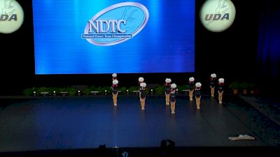 World Class All Star Dance - Sparklers [2021 Youth - Prep - Pom Finals] 2021 UDA National Dance Team Championship