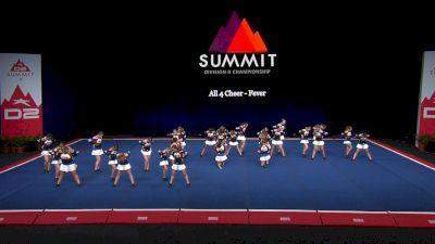 All 4 Cheer - Fever [2021 L3 Junior - Medium Finals] 2021 The D2 Summit