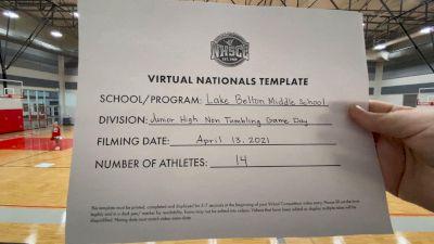 Lake Belton Middle School [Virtual Junior High Non Tumbling Game Day Finals] 2021 UCA National High School Cheerleading Championship