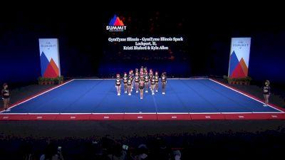 GymTyme Illinois - GymTyme Illinois Spark [2021 L4.2 Senior - Small Semis] 2021 The Summit