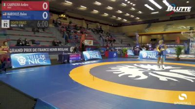 57 kg: Helen Maroulis vs Ambra Campagna (Italy)