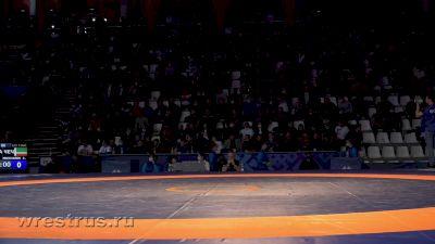 92 kg Quarterfinal, Anzor Urishev vs Zemilkhan Minkailov
