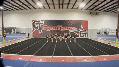 Gymtyme Illinois - Vixen [L3 Senior - Small] 2021 Varsity All Star Winter Virtual Competition Series: Event V