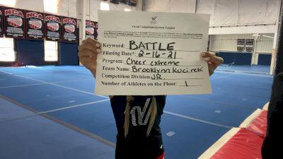 Cheer Extreme - Brooklynn_Kucirek - Finals [Junior Athlete] 2021 Battle In The Arena
