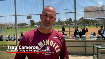 Florida State Assistant Coach Troy Cameron Interview At 2021 PGF
