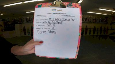 Miss Edie's Dancin Feet [Mini - Hip Hop] 2021 UCA & UDA March Virtual Challenge