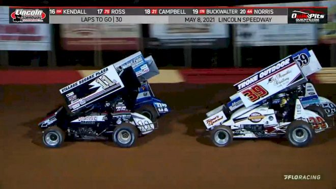 Highlights: 410 Sprints At Lincoln Speedway