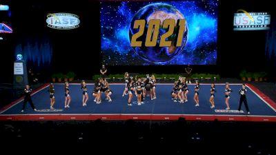 East Celebrity Elite - Hingham - Black Diamonds [2021 L6 Senior Medium Coed Finals] 2021 The Cheerleading Worlds
