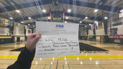 Show Low High School [Varsity Show Cheer Advanced Finals] 2021 USA Spirit & Dance Virtual National Championships