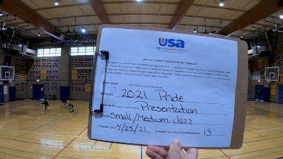 Presentation High School [Jazz Varsity - Medium] 2021 USA Spirit & Dance Virtual National Championships