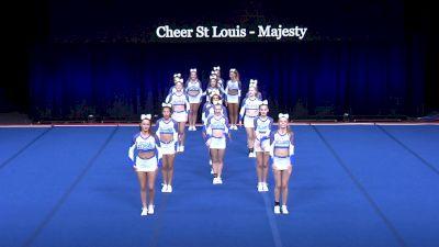 Cheer St Louis - Majesty [2021 L4 Senior - Small Semis] 2021 The Summit