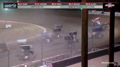 Highlights | KoT 410 Sprints Peter Murphy Classic at Keller Auto Speedway