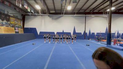 Rochester Elite Cheer - Black Sparkle [Open Traditional Recreation Non Building - 10 and Younger (NON)] 2021 NCA & NDA Virtual March Championship