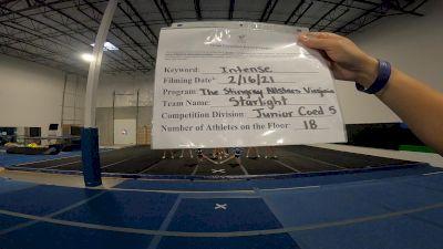 The Stingray Allstars - Starlight [L5 Junior Coed] 2021 Coastal at the Capitol Virtual National Championship