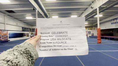 USA Wildcats - X-Fource [L4 - U17] 2021 Spirit Festival Virtual Nationals