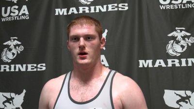 Ryan Boersma Wrestled His Match