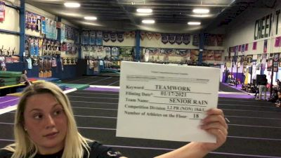 Tri-Town Competitive Cheerleading - Senior Rain [L2 Performance Recreation - 18 and Younger (NON)] 2021 Varsity Recreational Virtual Challenge II