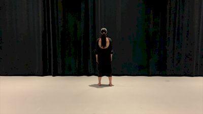 Jordan Lorenger - Alma College (College Solo -- Contemporary/Lyrical)