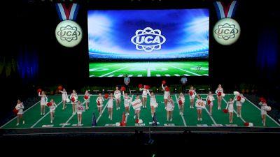 Liberty Christian Academy [2021 JH Non Tumbling Game Day Finals] 2021 UCA National High School Cheerleading Championship