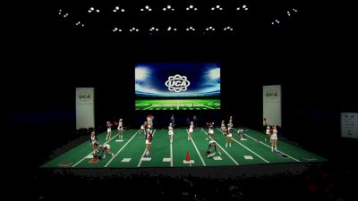 Obion County Central High School [2021 Medium Non Tumbling Game Day Semis] 2021 UCA National High School Cheerleading Championship