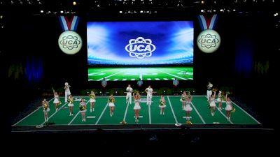 Deland High School [2021 Small Coed Game Day Semis] 2021 UCA National High School Cheerleading Championship