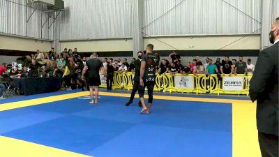 Victor Hugo vs Aaron Tex Johnson 2021 Pan IBJJF Jiu-Jitsu No-Gi Championship Flozone